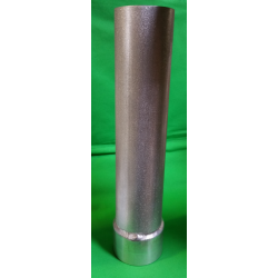 TUBE JAUMIERE ALU Ø 100x2 LG 0 ⩽ 500mm + SUPPORT ALU SOUDE OR.10.14.08