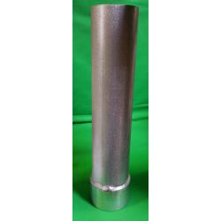 ALUMINIUM RUDDER TUBE Ø 80x2 LG 0 ⩽ 500mm + WELDED RING FOR OR.10.14.06